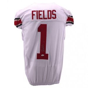 Justin Fields Signed Ohio State Buckeyes Jersey (JSA COA) 2021 Top 10 Pick ?