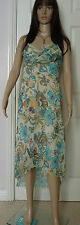 Rampage dress Size M evening / Cocktail /party dress multi pastels pattern lined