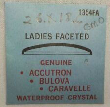 GENUINE ACCUTRON 1354FA WATCH CRYSTAL REPLACEMENT PART  WATCHMAKER #18