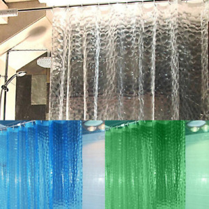 1.8*1.8m Mold proof Shower Curtain Waterproof Thicken Transparent Shower Curtain