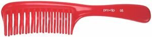 DENMAN Pro-Tip Professional Detangling Hair Comb, Red, 08 HAIRDRESSING