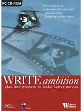 Write Ambition PC Cd Rom Plan & Prepare to Make a Better Movie Publish Movies