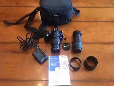 Olympus E520 E-520 10.0MP Digital SLR Camera w/ 14-42mm and 40-150mm Lenses