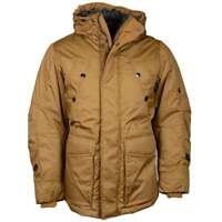 G-Star Whistler Twill Short Parka Cubano Brown Jacket