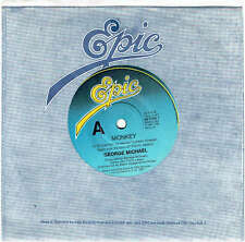 "GEORGE MICHAEL - MONKEY - 7"" 45 VINYL RECORD - 1987"