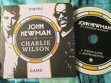 John Newman Ft. Charlie Wilson Tiring Game  Island Records Promo UK CDr Single