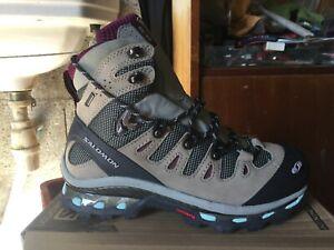 NEUVE chaussure montagne QUEST GTX ((4D)) SALOMON (WOMEN 36)+1 P chaussette