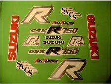 gsx r 750 GSX R 750 vintage 86-87 motorcycle old decals stickers