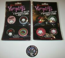 Vamplets Baby Vampyres Ridiculously Rotten Buttons Pins SDCC Comic Con Lot of 9