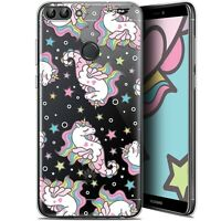"Coque Gel Huawei P Smart (5.7"") Extra Fine - Licorne Dormante"