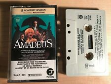 Amadeus Soundtrack Cassette Tape Complete with Insert Made in USA Fantasy Label