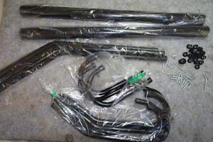 LANGRIA Garderobenständer Stabil Metall Kleiderständer Händler R04030
