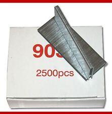 Druckluft Klammern 5,7 x 25mm Tackerklammern 2500Stück Klammergerät TYP90 GA18