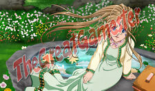 Ah My Goddess Belldandy in Garden Custom Playmat / Gamemat / Mat #101913
