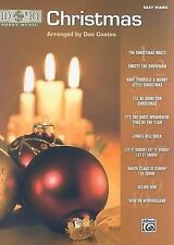 10 for 10 Sheet Music Christmas Easy Piano Solos  Dan Coates Song Book Songbook
