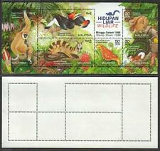 MALAYSIA 1996 Stamp Week Wildlife MS Mint MNH