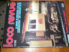 Loco Revue n°488 Musée Mulhouse Micheline XM1000 141R