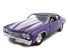 1970 CHEVROLET CHEVELLE SS 454 PURPLE 1:24 PRO STREET CAR UNIQUE REPLICAS 18676