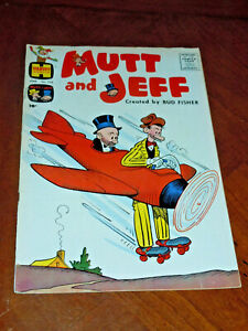 MUTT AND JEFF #118 (HARVEY 1960)  F-VF (7.0) cond. Early RICHIE RICH story
