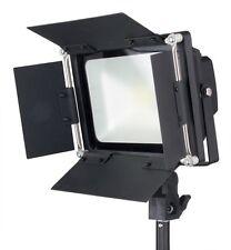 LED Bi-Color Dimmable 100W Barndoors Photography Photo Video Light Steve Kaeser