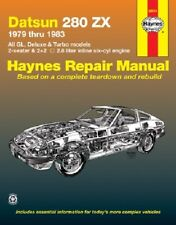 Repair Manual Haynes 28014 fits 79-83 Nissan 280ZX