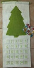 Pottery Barn Kids Holiday Merry & Bright Ornament  Advent Calendar #2223