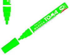 Neon Green Permanent Oil Based Paint Pen Car Bike Tyre Metal Marker waterproof