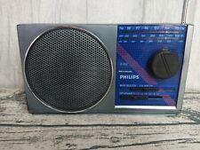 Vintage Philips Radio D-2012 - Three Band FM/MW/LW - Working, Mains and batts