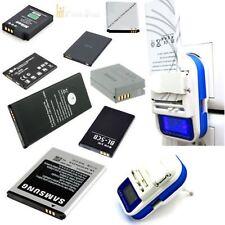 Universal Batterie Charger Ladegerät für Handy Kamera Akku+ LCD Anzeige USB Port