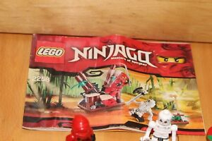 "Lego Ninjago - Ninja Kai & Chopov "" Ninja Hinterhalt"" Set 2258 mit Bauanleitung"