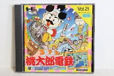 Super Momotarou Dentetsu PC Engine PCE HuCard Hu-Card Japan Import US Seller