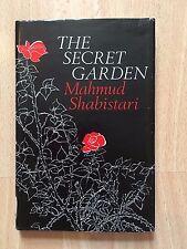 The Secret Garden Hardcover Book Mahmud Shabistari Poetry Fiction