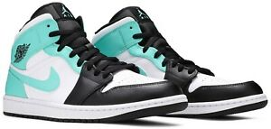 "Mens Size 7.5-13 Nike Air Jordan 1 Mid Tropical Twist ""Igloo"" 554724-132"