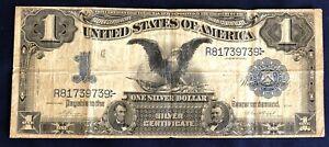 1899 $1 Black Eagle Silver Certificate Vernon Trent