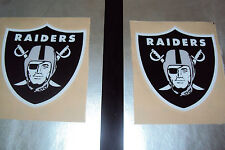 Oakland Raiders Football Helmet Decals Full Size
