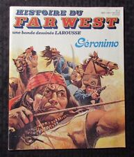1980 HISTOIRE DU FAR WEST #3 FN 6.0 Geronimo  - Spanish w/ Map