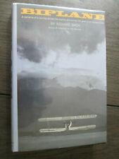 BIPLANE Richard Bach SIGNED also by  Ray Bradbury