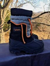 TOTES Winter Warm Snow Ski LINED Hiking Walk Boots Boys Girls Shoes Sz 5 Toddler