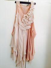 Splendido fatto a mano italiana Bridal Couture Seta Abito £ 850
