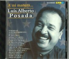 A Mi Manera Luis Alberto Posada  Latin Music CD