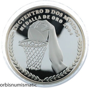 ARGENTINA 25 PESOS 2007 OLYMPIC GAMES RARE SILVER PROOF IBERO AMERICAN ZG106