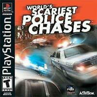 World's Scariest Police Chases Playstation 1 Game PS1 Used