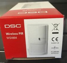 DSC WS4904P  Wireless Motion Detector  w/Pet-Immunity to 60 lbs NEW
