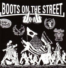 BOOTS ON THE STREET CD Thug Boots * Beyond Hate * Barricades * Working Poor USA