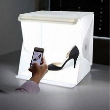 Portable Photo Studio Lighting Mini Box Photography Backdrop LED Light Tent UK