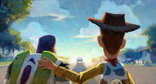 """Toy Story - Buzz & Woody Painting (11"""" x 17"""") Collector's Poster Print - B2G1F"""