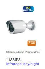 IP CAMERA HD Sony 3 Mega pixel 2048x1536, Infrarossi 30 LED ESTERNO TELECAMERA