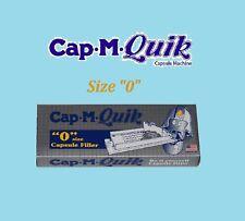 Cap-M-Quik Size 0 NO TAMPER Capsule Filler Machine Tamper Available Separately