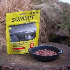 Summit to Eat Chocolate Mousse with Cherry & Granola