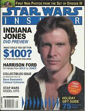 Star Wars Insider magazine Harrison Ford Han Solo Model kits Holiday gift guide